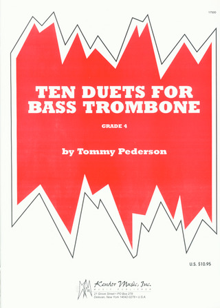 Peterson Tommy: 10 Duets For Bass Trombone