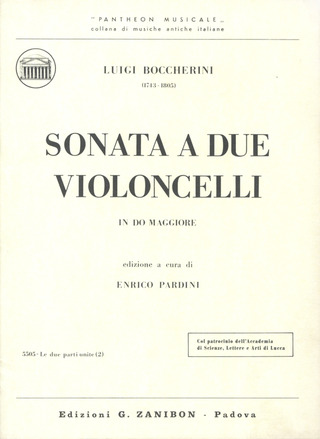 Luigi Boccherini: Sonata In Do (Pardini)
