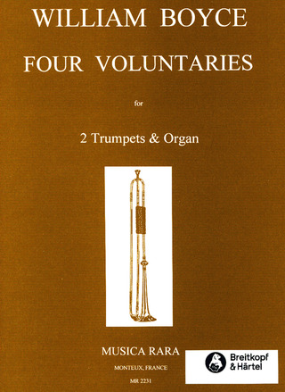 William Boyce: 4 Voluntaries