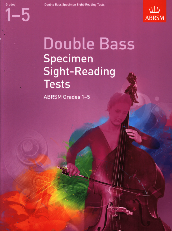 Double Bass Specimen Sight-Reading Tests ABRSM Grades 6-8 from 2012 Exam Book