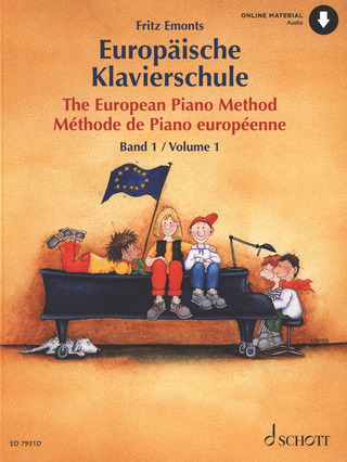 Fritz Emonts: The European Piano Method 1