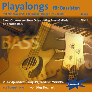 Jörg Sieghart: Playalongs Fuer Bassisten 1