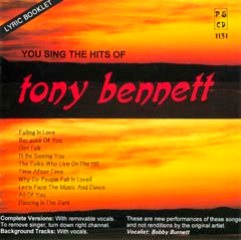 You Sing The Hits Of Tony Bennett 2
