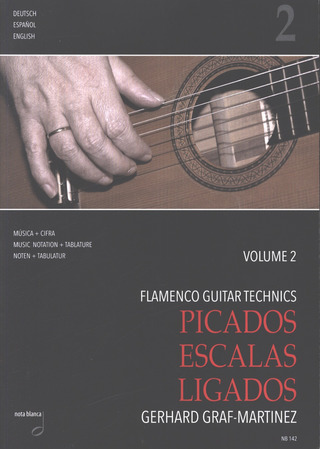 Gerhard Graf-Martinez: Flamenco Guitar Technics 2