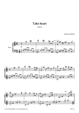 Kathrin Landwehr: Take Heart