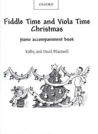 David Blackwell et al.: Fiddle Time Christmas / Viola Time Christmas