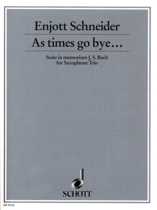Enjott Schneider: As times go bye ... (2001)