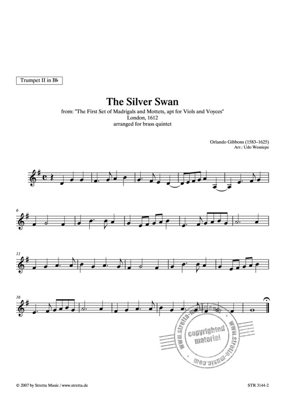 Orlando Gibbons: The Silver Swan (2)