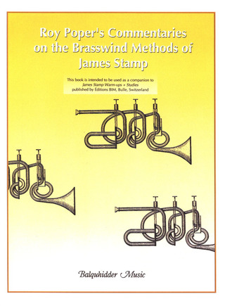 Roy Poper: Commentaries on the Brasswind Method of James Stamp