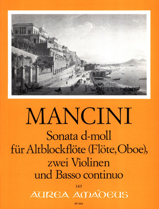 Francesco Mancini: Sonate d-moll