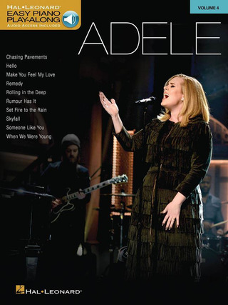 Adele Adkins: Easy Piano Play-Along 4 – Adele