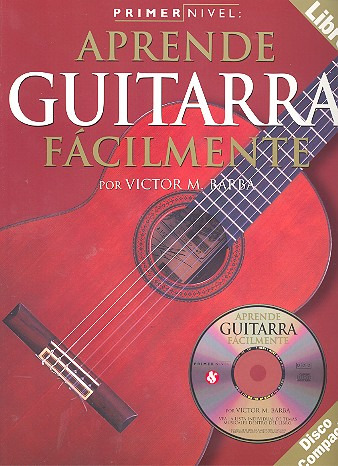 Victor M. Barba: Primer Nivel Guitarra (Guitar) Level 1 Spanish Bk/Cd