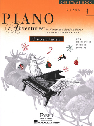 Randall Faber et al.: Piano Adventures 4 – Christmas
