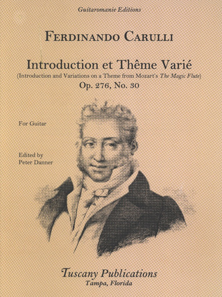 Ferdinando Carulli: Introduction + Theme Varie Op 276/6