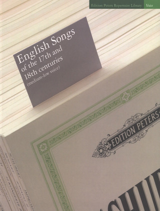 English Songs of the 17th and 18th centuries – mittlere/tiefe Stimme