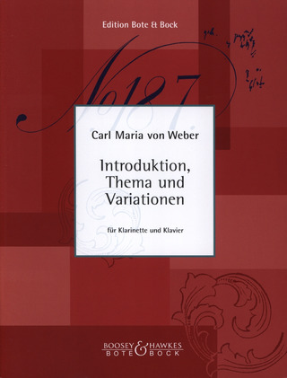 Carl Maria von Weber: Introduktion Thema + Variationen