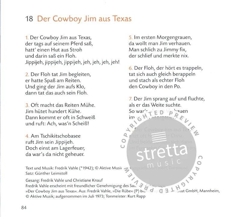 der cowboy jim aus texas text