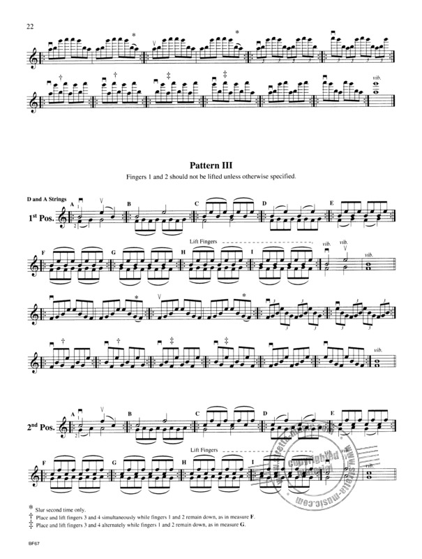 Roland Vamos: Exercises for the Violin (2)