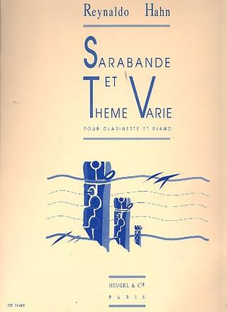 Reynaldo Hahn Clarinet//Piano Sarabande et Thme Varie