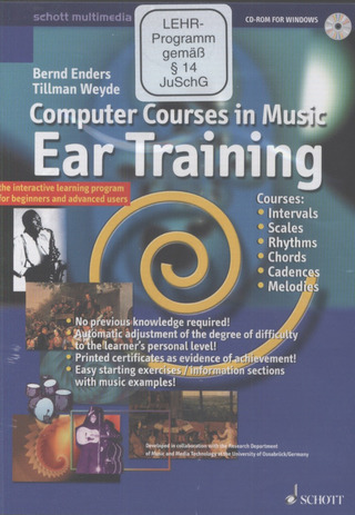 Bernd Enders et al.: Computer Courses in Music – Ear Training