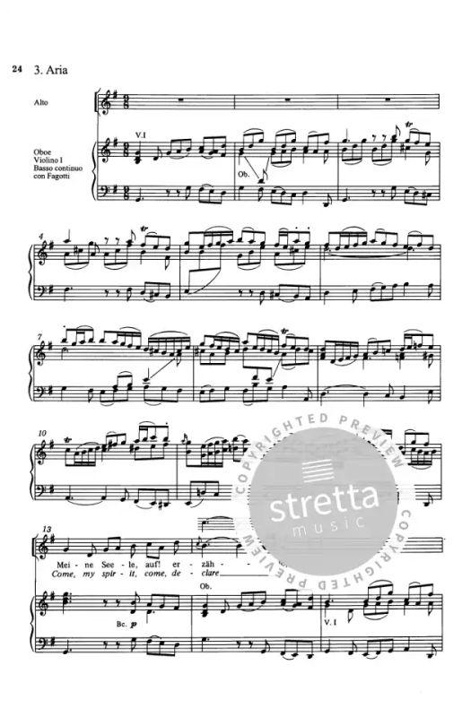 Lobe den Herrn, meine Seele (II) D-Dur BWV 69 von Johann
