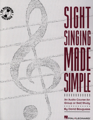 Sight Singing Made Simple Book/Cd