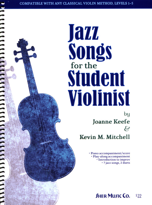 Kevin M. Mitchell y otros.: Jazz Songs for the Student Violinist