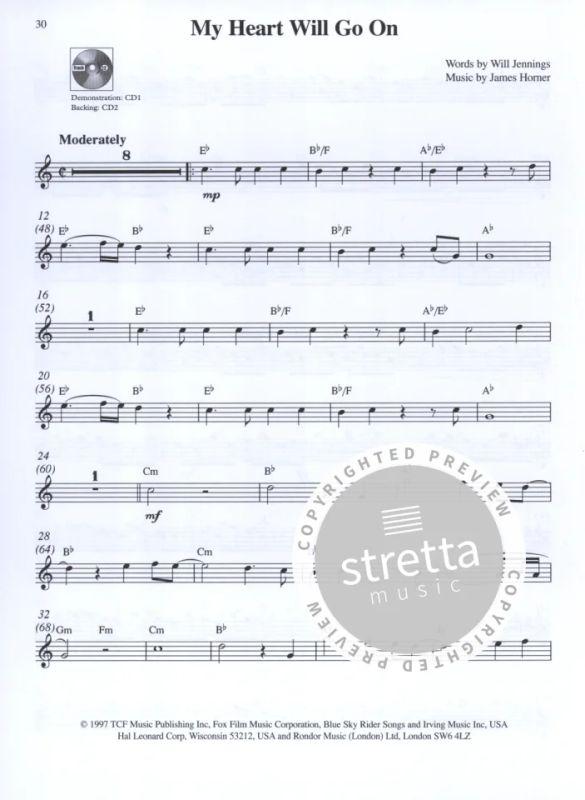 Take The Lead Bumper Book - Alto Saxophone Asax Book/Cd