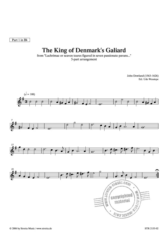 John Dowland: The King of Denmark's Galiard (2)