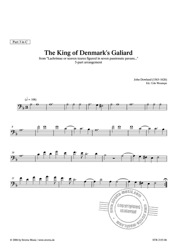 John Dowland: The King of Denmark's Galiard (3)