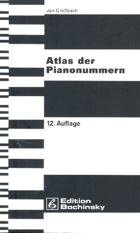 Jan Großbach: Atlas of the piano numbers