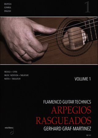 Gerhard Graf-Martinez: Flamenco Guitar Technics vol. 1