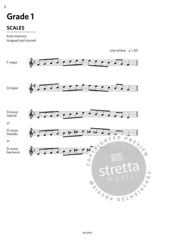 ABRSM: Oboe Scales & Arpeggios, ABRSM Grades 1–5 | buy now