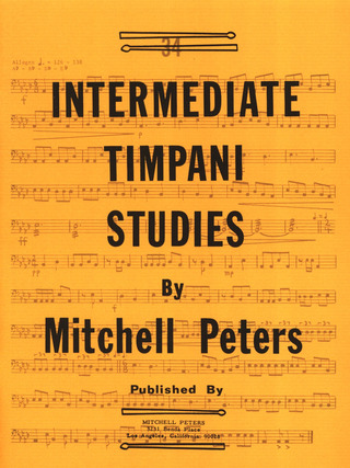 Mitchell Peters: Intermediate Timpani Studies