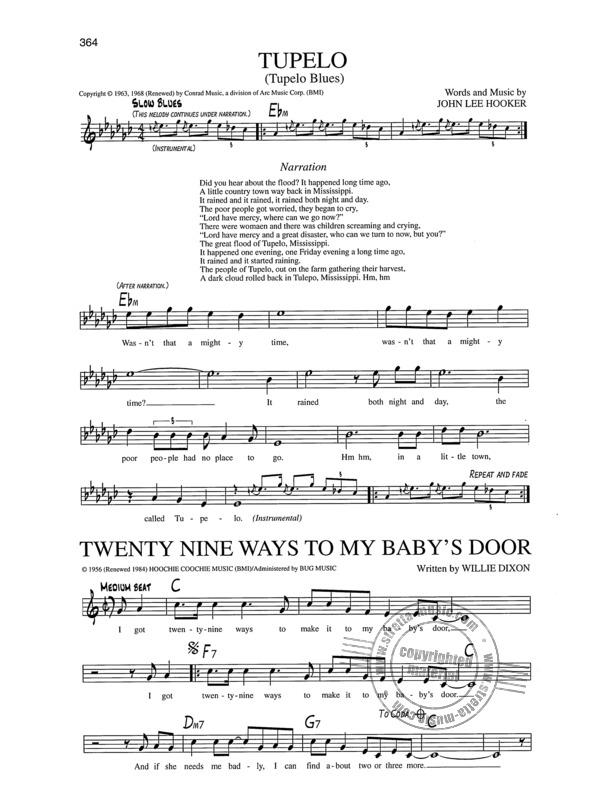 Blues Fake Book - 400 Songs | buy now in Stretta sheet music