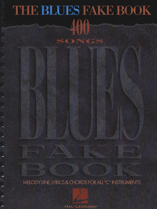 Blues Fake Book - 400 Songs