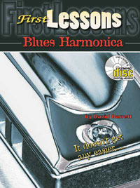 David Barrett: First Lessons - Blues Harmonica