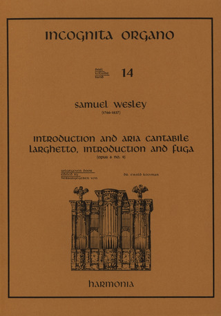 Wesley Samuel: Introduction + Aria Cantabile Larghetto