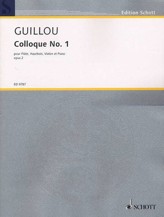 Jean Guillou: Colloque No. 1 op. 2 (1956)