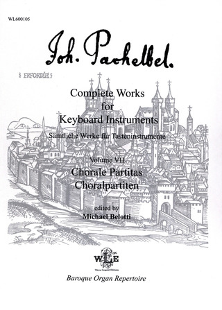 Johann Pachelbel: Complete Works For Keyboard Instruments 7