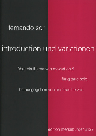 Fernando Sor: Introduktion + Variationen Op 9