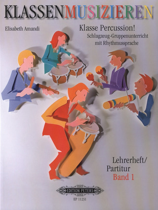 Amandi, Elisabeth: Klasse Percussion! - Band 1