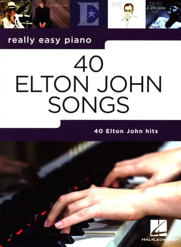 GREATEST HITS BIG NOTE PIANO SONG BOOK ELTON JOHN