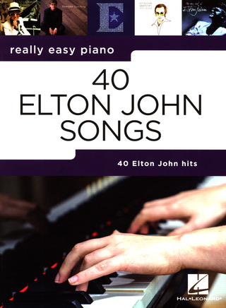 Elton John: Really Easy Piano: 40 Elton John Songs
