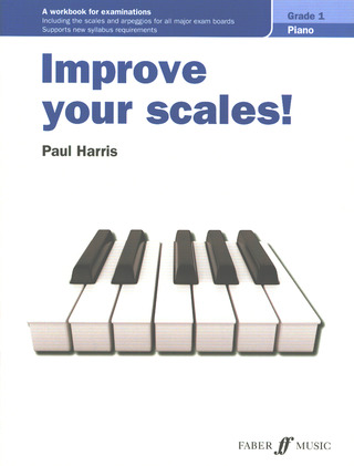 Paul Harris: Improve your scales! Grade 1