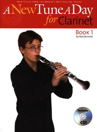 Bennett Ned: A New Tune A Day Clarinet Cd Edition Clt Book / Cd