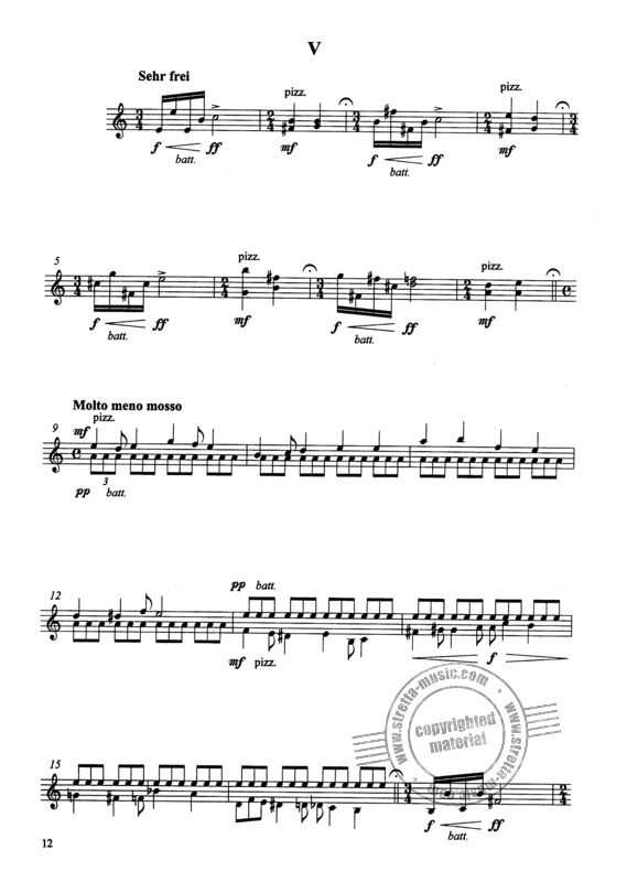 Roland Leistner-Mayer: 6 Aveux D'Amour Op 93 (3)
