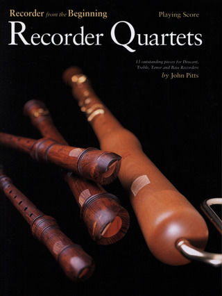 John Pitts: Recorder Quartets Playing Score