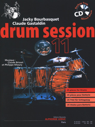 Jacky Bourbasquet y otros.: Drum Session 11