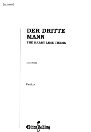 Anton Karas: Zither Ballade (Harry Lime Theme - Der Dritte Mann)